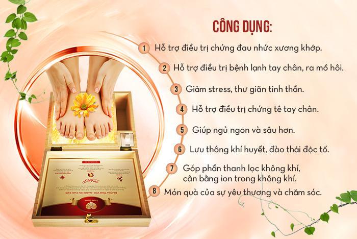 Mua hộp đá muối massage chân Love Stone ở đâu tại Phú Thọ?