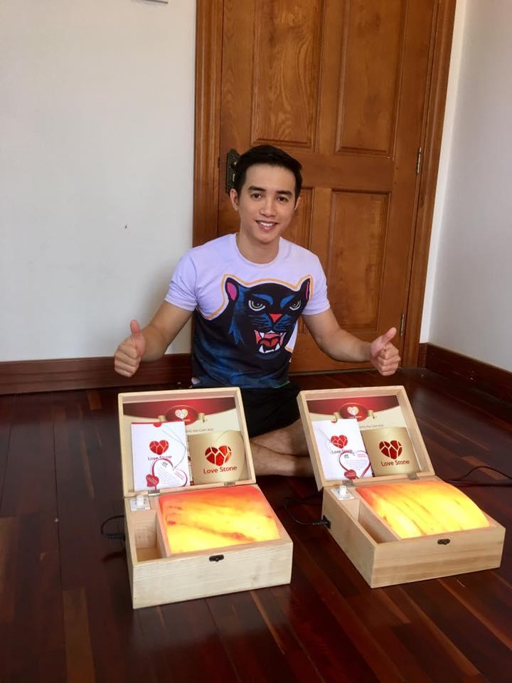 Đâu là nơi mua hộp đá muối massage chân Love Stone tại Tiền Giang?
