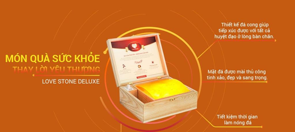 Tìm mua sản phẩm hộp đá muối massage chân Love Stone ở đâu tại Nghệ An?