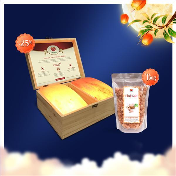 Giảm 25% sản phẩm Lovestone Magic + tặng bịch muối ngâm chân Himalaya