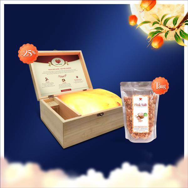 Giảm 25% sản phẩm Lovestone Standard Vip + tặng bịch muối ngâm chân Himalaya