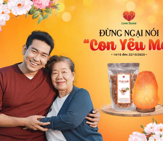 Ưu đãi đặc biệt mừng ngày Phụ Nữ Việt Nam 20/10 từ món quà sức khỏe Love Stone