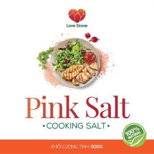 Muối ăn Pink Salt 500g