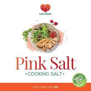 Muối ăn Pink Salt 1kg