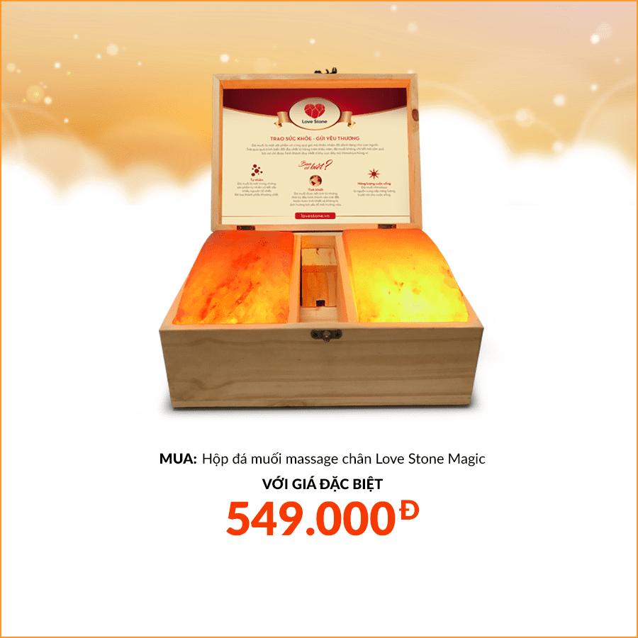MUA hộp đá muối Love Stone Magic với giá đặc biệt chỉ 549k