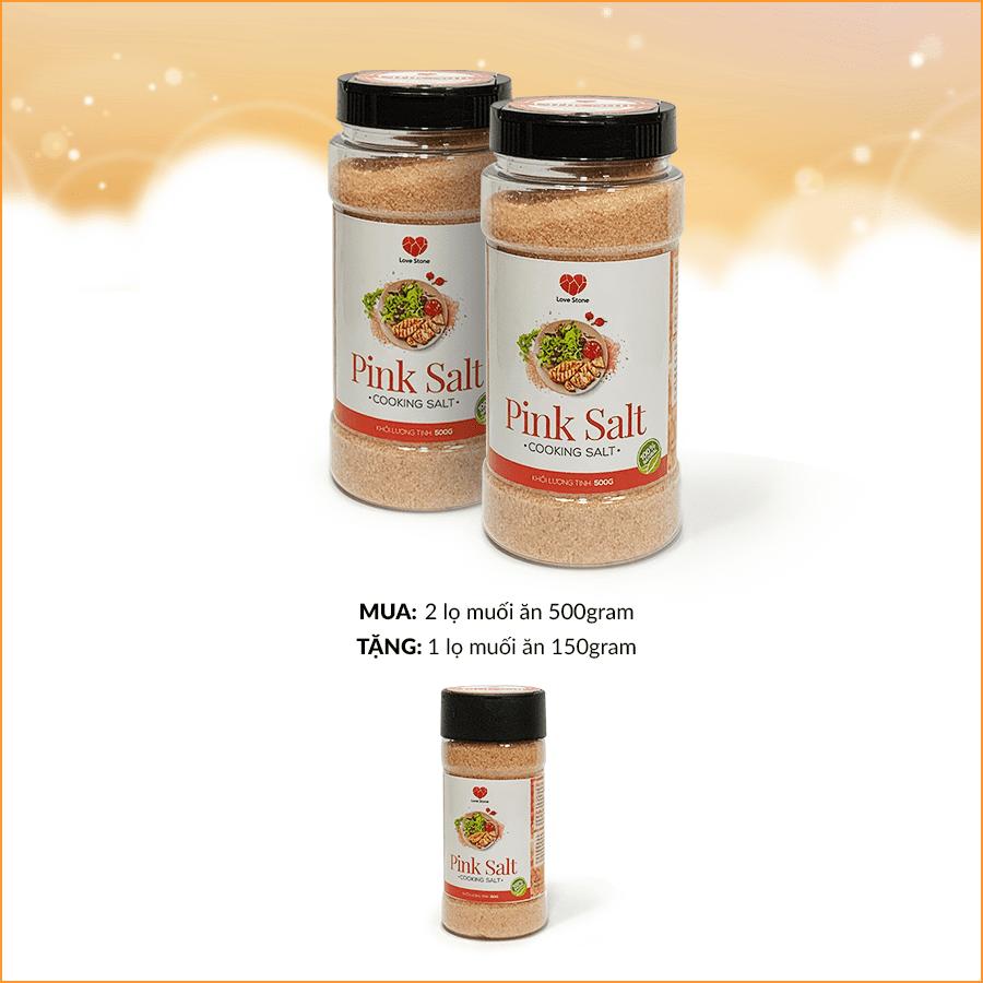 MUA 1kg muối ăn TẶNG NGAY 150g