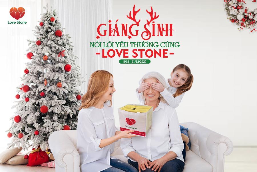 Giáng Sinh: Nói lời yêu thương cùng Love Stone